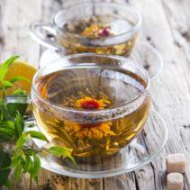 Связанный чай (Цветок)